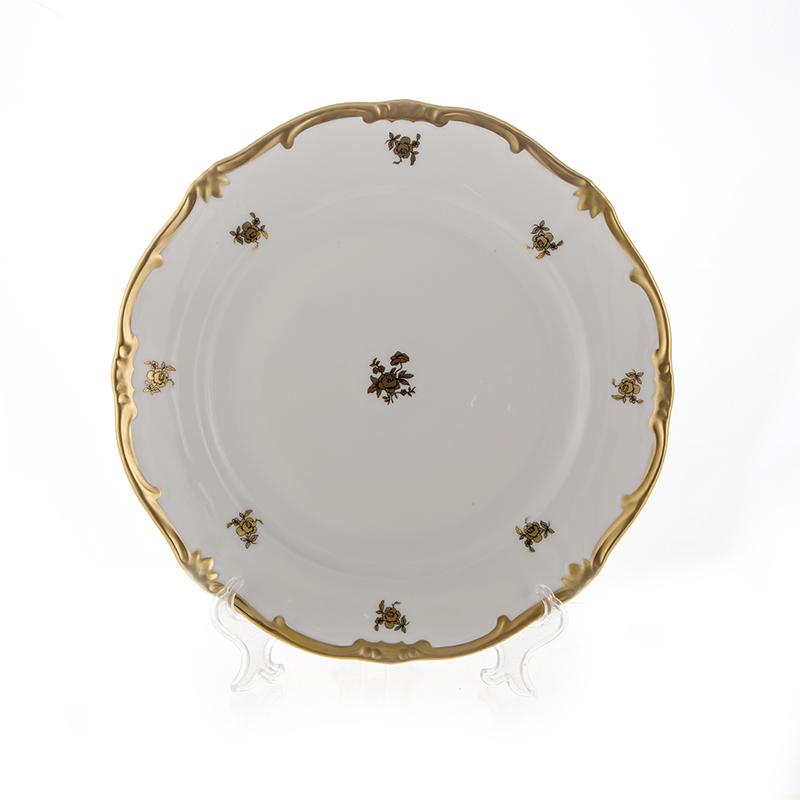 Набор тарелок РОЗА ЗОЛОТАЯ
