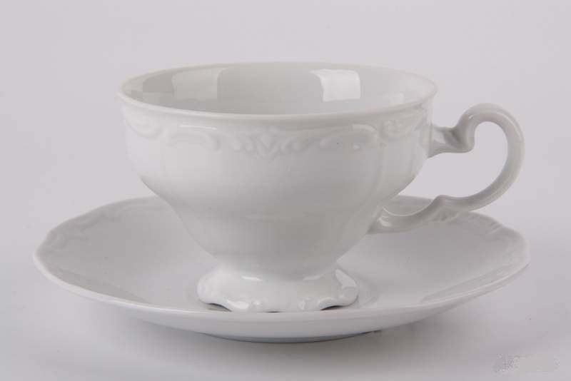 Набор чайных пар ЭЛЕГАНС недекорированный от Weimar Porzellan