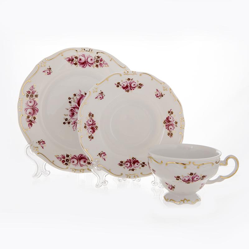 Набор чайный подарочный РОЗА