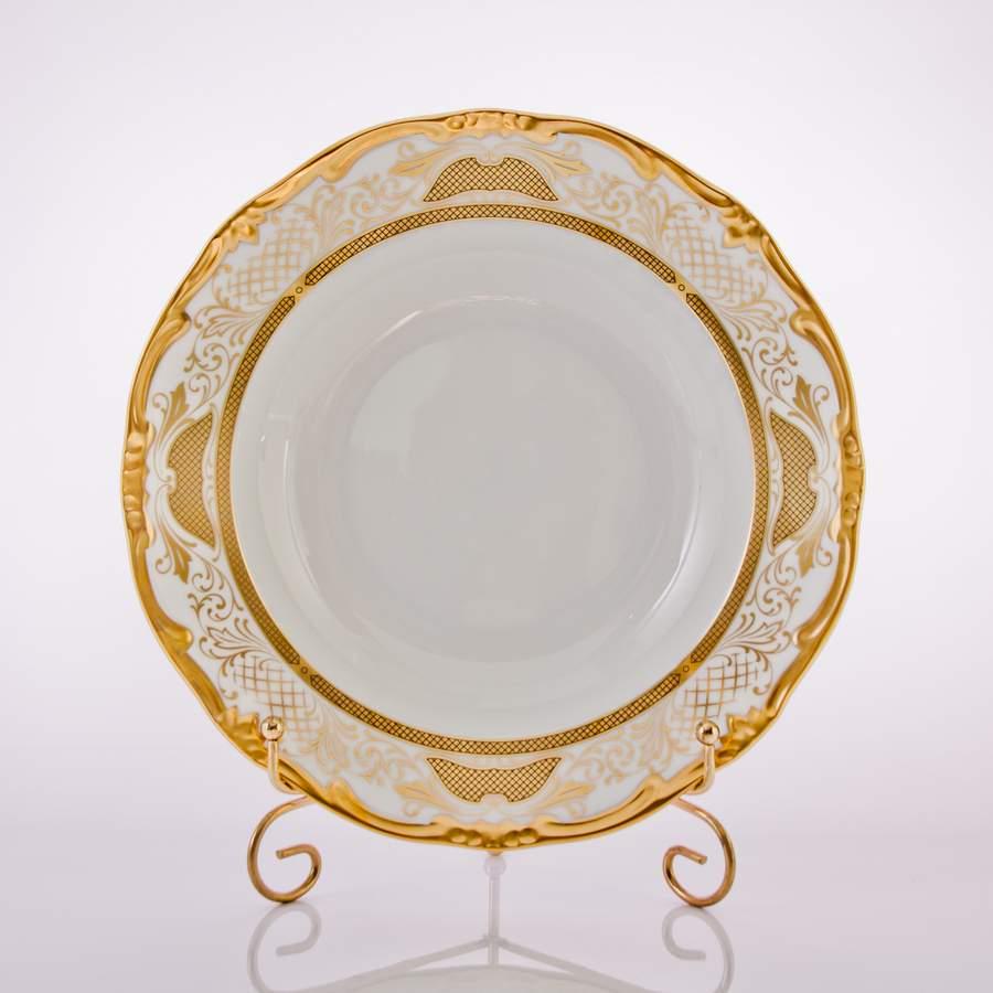 Набор глубоких тарелок 24 см СИМФОНИЯ ЗОЛОТАЯ