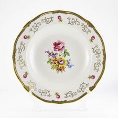 Набор глубоких тарелок 24 см САНКТ-ПЕТЕРБУРГ 1145 от Weimar Porzellan, фарфор, 6 шт.
