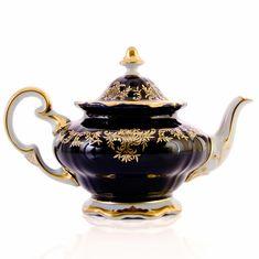 Фарфоровый чайник 1.2 л ЮВЕЛ КОБАЛЬТ от Weimar Porzellan