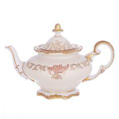 Чайник 1.2 л ЮВЕЛ КРЕМОВЫЙ от Weimar Porzellan, фарфор