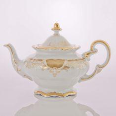 Фарфоровый чайник 600 мл СИМФОНИЯ ЗОЛОТАЯ от Weimar Porzellan