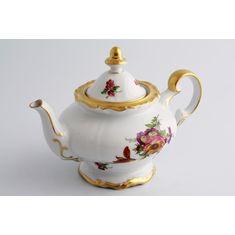 Фарфоровый чайник 1.2 л МЕЙСЕНСКИЙ БУКЕТ от Weimar Porzellan