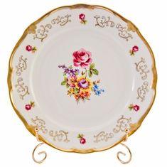 Набор тарелок 22 см САНКТ-ПЕТЕРБУРГ 1145 от Weimar Porzellan, фарфор, 6 шт.