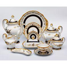 Чайный сервиз АННА АМАЛИЯ от Weimar Porzellan на 6 персон, 30 предметов