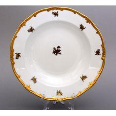 Набор глубоких тарелок РОЗА ЗОЛОТАЯ от Weimar Porzellan