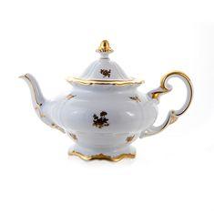 Чайник РОЗА ЗОЛОТАЯ от Weimar Porzellan